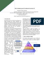 ISO 20000 - El Estandar Para La Gestion de Servicios TI