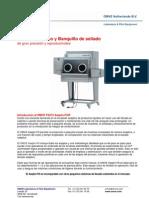 Llenador y Sellador Aséptico de Laboratorio | Sistemas de Investigacion y Desarrollo | Tecnologia Alimentaria