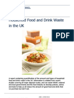 Household Food and Drink Waste in the UK - June 2009