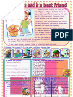 Islcollective Worksheets Elementary a1 Elementary School High School Rea Bones and His Best Friend 18054e6146f6684108 54138148