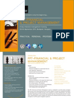 FP7 Financial & Project Management course 2011