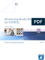 Monitoring Studio KM for PATROL 8.6.53