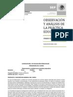 Curso de Observacion y Analisis de La Practica Educativa_LEPreesc