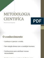 METODOLOGIA CIENTIFÍCA