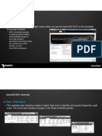 AutoCAD 2012 New Features