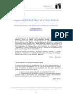 Responsabilidad Social Universitaria Pucp Monterrey
