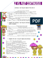 Islcollective Worksheets Elementary a1 Pre Intermediate a2 Elementar Past Simple vs Past Continuous 128264e12b6d7ecc2e9 83279104