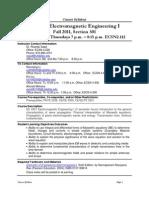 UT Dallas Syllabus for ee4301.501.11f taught by Ricardo Saad (rsaad)