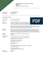 UT Dallas Syllabus for atec2382.501.11f taught by Rajashi Ghosh (rxg058000)