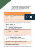 Fragebogen (E Mail)