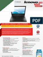 IdeaPad U300s Datasheet US