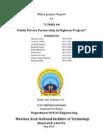 Public Private Partnership_Project Report