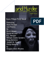 Sex and Murder Magazine V1 I1