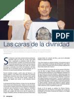 DIVINOS ROSTROS, Luis Tenorio en La Zona, Revista Enespera 42