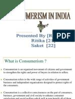 Consumerism in India- PPT