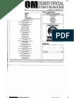 Diario Oficial Municipio de São João de Meriti - 23/12/2010 - Lei Complementar 132 de 14 de Dezembro de 2010