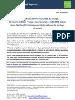Lancement du Cleantech Open France 2011