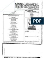 Diário Oficial do Município de São João de Meriti de 20/12/2010 - Lei 1765 de 22 de Dezembro de 2010