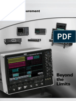 2011 LeCroy Product Line Card