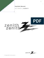 Zenith z50px2d