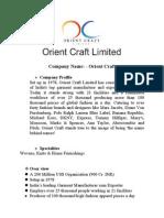 Orient Craft 1