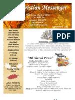 September 6 Newsletter