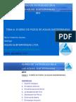 DISEÑO DE POZOS DE AGUAS SUBTERRANEAS