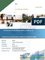 Estado de Internet con un Enfoque en México Agosto 2011 Comscore