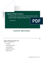 19601843 Lehman Brothers Interest Rate Futures