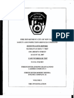 FDNY report on fatal fire, August 18, 2007