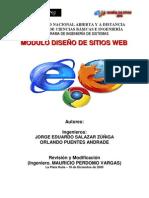 Modulo diseño web