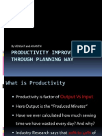 Productivity Improvement Through Planning Way_3_R
