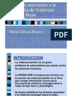 factores asociados a la violencia familiar