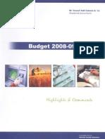 Budget 2008-09 Pakistan
