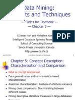 Chapter 5 Concept Description Characterization and Comparison 395