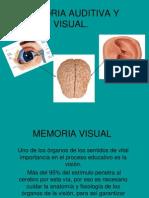 Memoria Auditiva y Visual