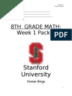 Unit0 Week1 Packet