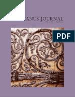 Africanus Journal Volume 3 No. 1
