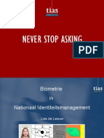 Biometrie in Nationaal Identiteitsmanagement