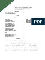 Sprint complaint against AT&T's T-mobile acquisition