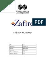 Masterpack Notepad