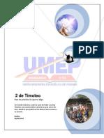 2 de Timoteo Manual Del Estudiante