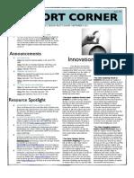Pilot Cohort Corner Issue #3