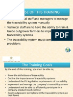 Power Point-traceability Training