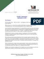 The Monarch Report 9-6-11