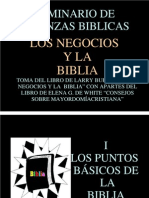 5 Los Negocios y La Biblia
