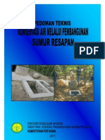 2011 Ped Tek Konversi Air Melalui Pembangunan Sumur Resapan 2011