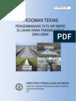 2011 Ped Tek an Tata Air Mikro Di Lahan Rawa 2011