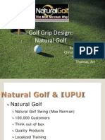 4088 Natural Golf Grip Design