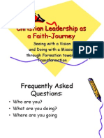 Christian Leadership as a Faith-Journey